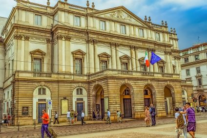 Teatro alla Scala di Milano esterno