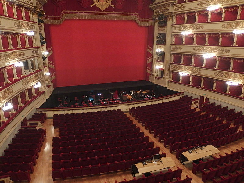 Teatro alla Scala interno