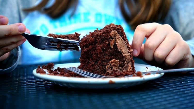 torta al cioccolato come dessert