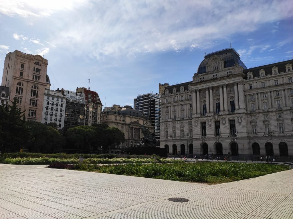argentina - veduta di Ciudad di giorno