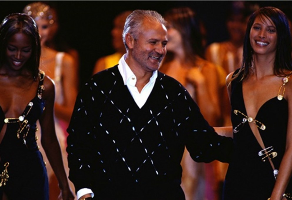 versace sul palco - on stage