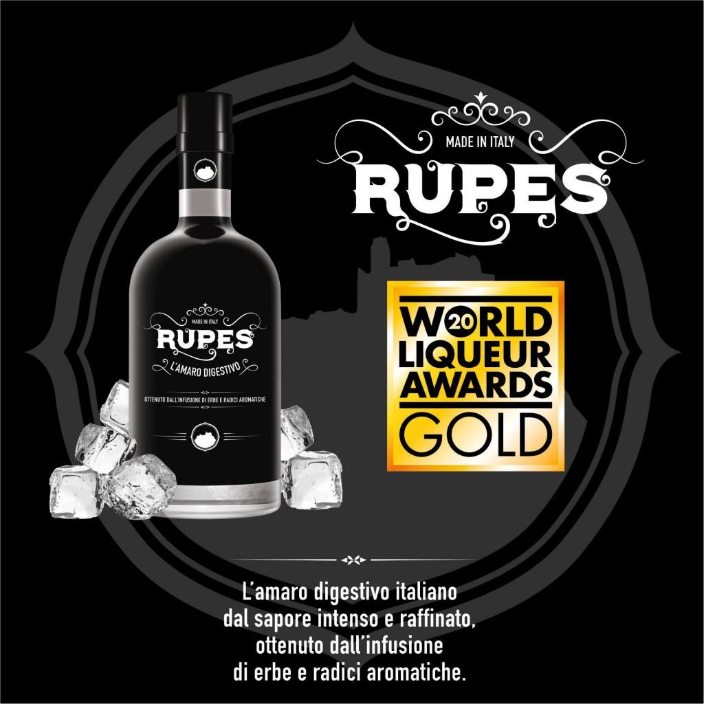 locandina Amaro Rupens Gold