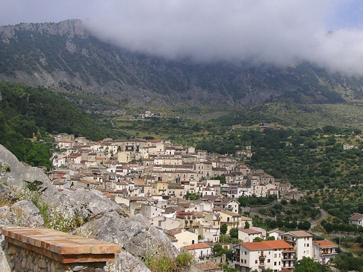 Panorama di Civita