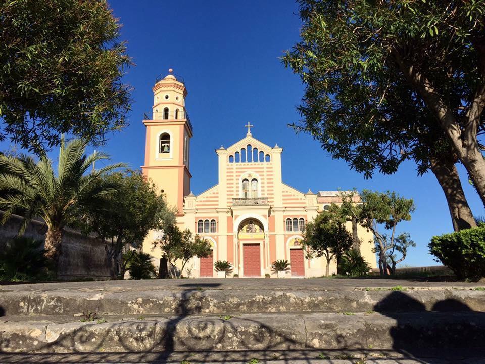 Una chiesa di Conca dei Marini