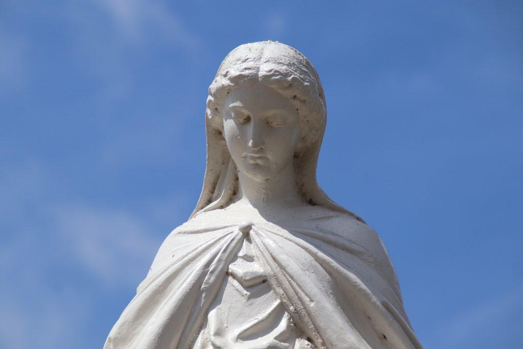 Ferragosto, statua della Madonna