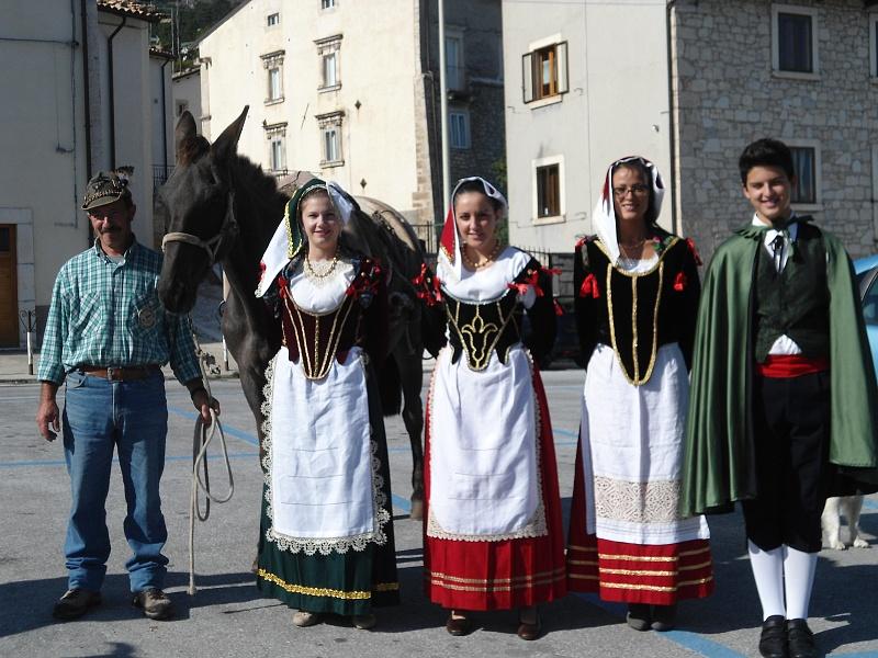 Pescocostanzo, costumi tradizionali. Foto Il portale di Pescocostanzo