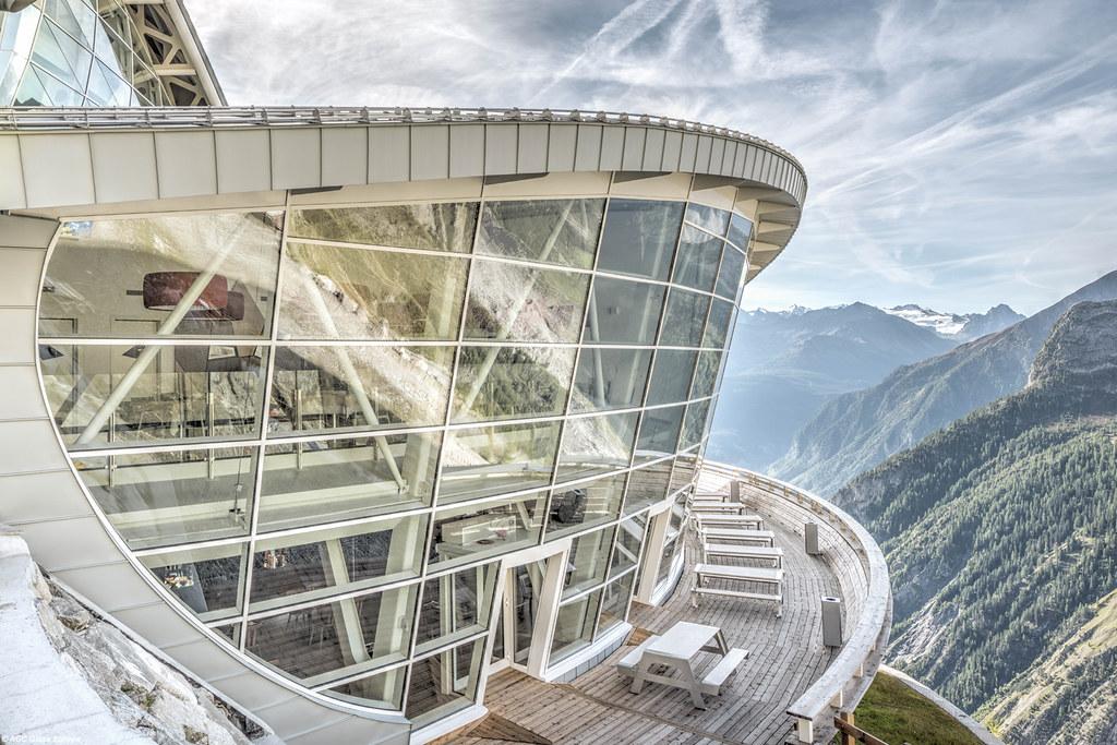 Skyway, stazione intermedia, Pavillon du Mont Fréty
