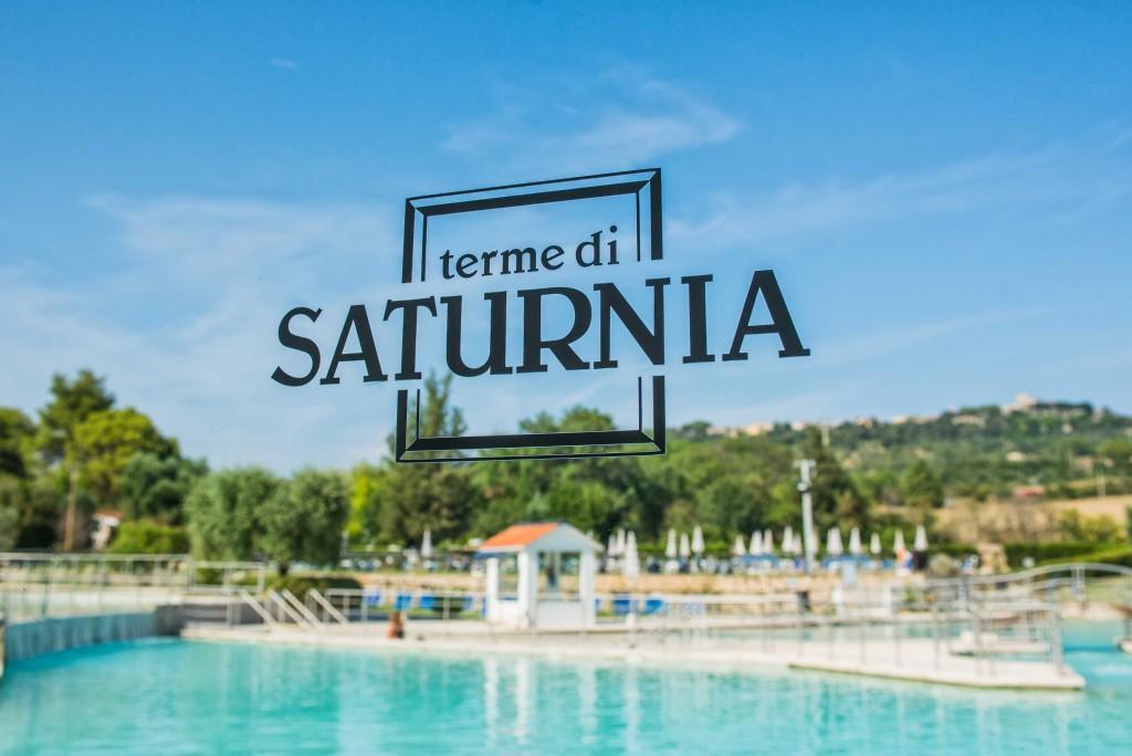 Il parco termale delle terme di Saturnia