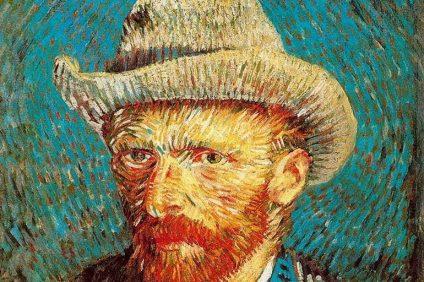 Van Gogh - Autoritratto con cappello di feltro