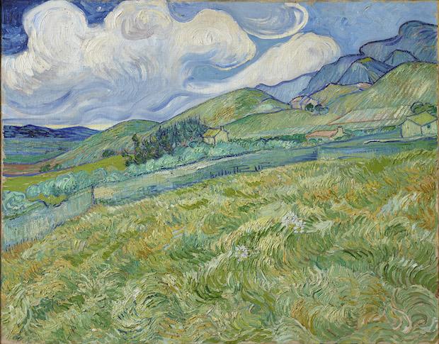 Van Gogh - Paesaggio a Saint Rémy