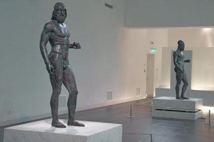 L'allestimento al museo