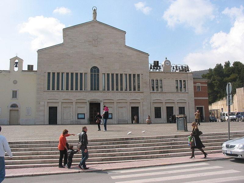 La chiesa di San Giovanni Rotondo dove visse San Pio