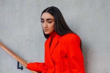 Gucci - primo piano della modella Armine Harutyunyan