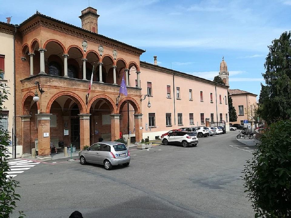 L'ospedale Rizzoli di Bologna, qui si è usata la stampante 3D / The Rizzoli hospital in Bologna, here the 3D printer was used