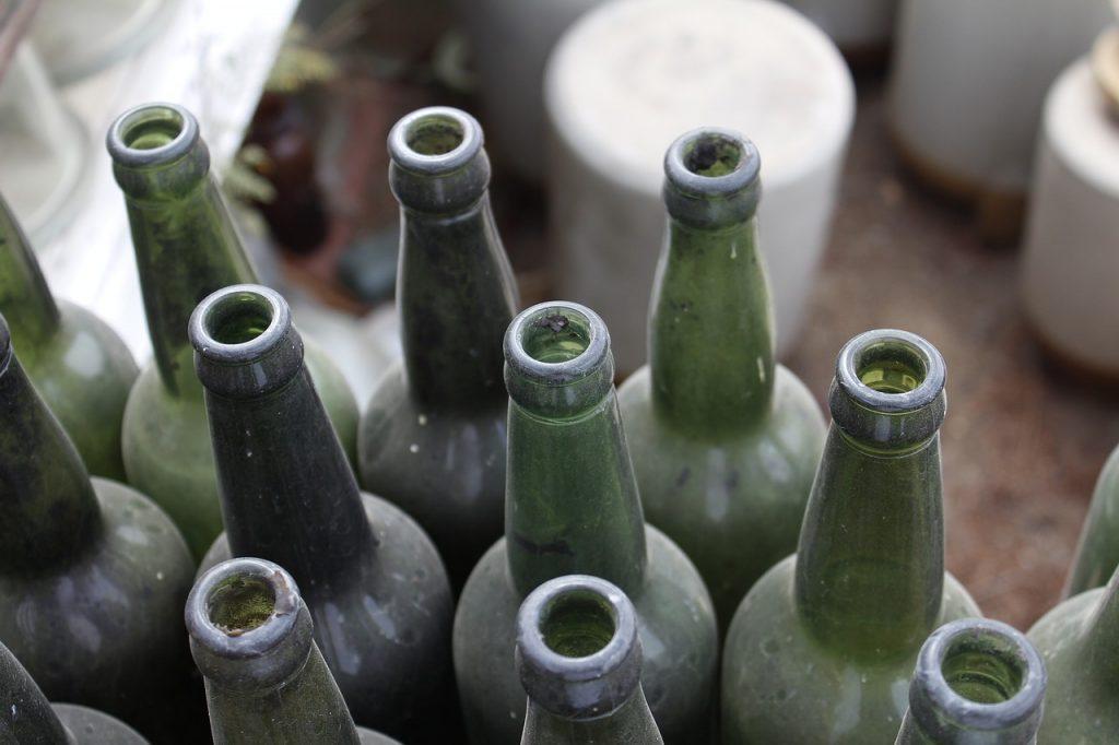 salsa - bottiglie di vetro
