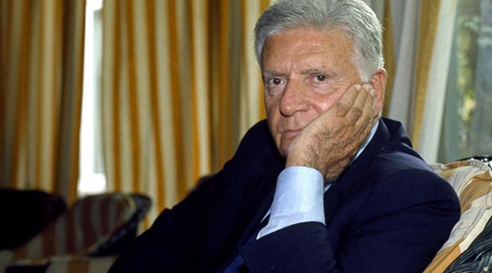 Sergio Zavoli è stato giornalista e scrittore / Sergio Zavoli was a journalist and writer