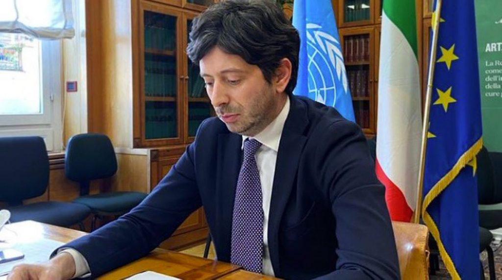 ministro salute speranza 500 mila vaccinazioni