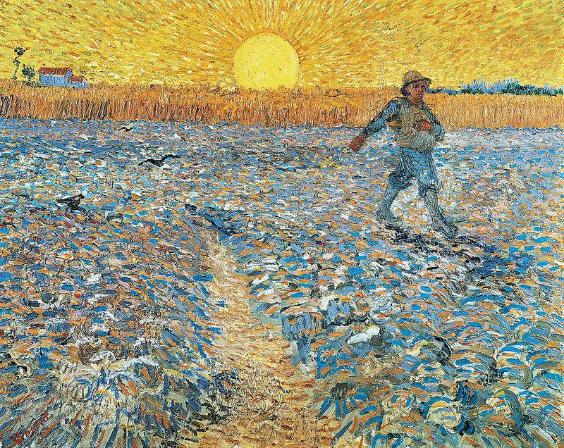 Van Gogh - Il seminatore