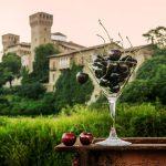 Le ciliegie di Vignola e la veduta della rocca