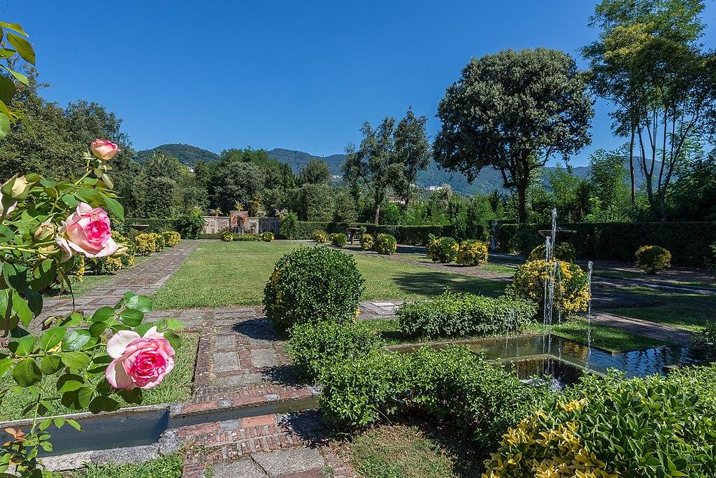 Giardino spagnolo, Villa Marlia