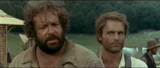Lo chiamavano Trinità film - Bud Spencer e Terence Hill