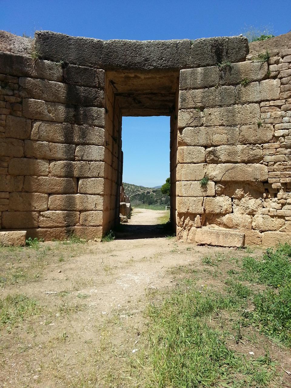 La porta del Leone a Micene