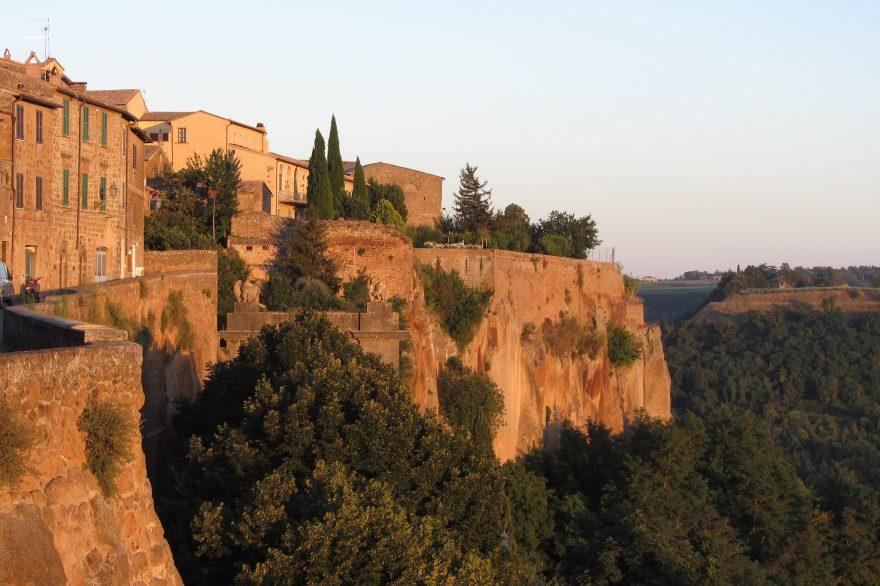 Orvieto, città alta costruita sul tufo