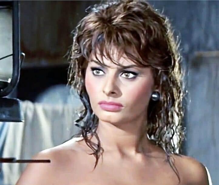Sophia Loren, primo piano