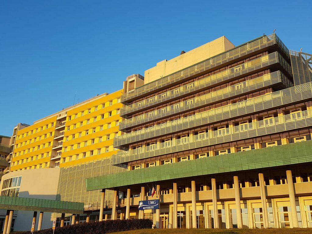 La facoltà di medicina all'Università Magna Graecia di Catanzaro.
