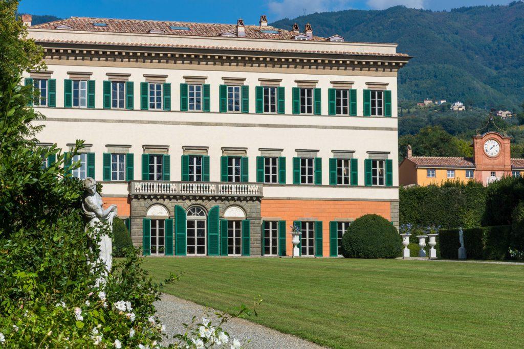 Facciata Villa Marlia