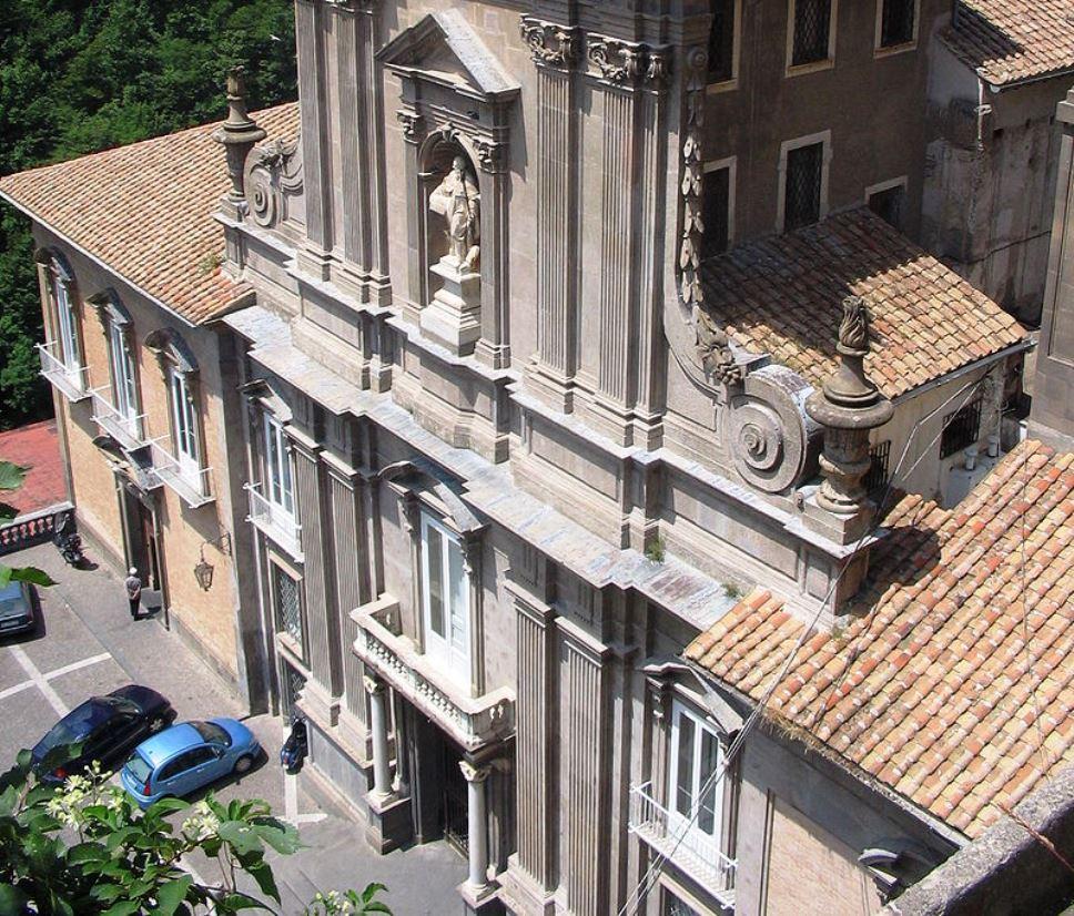 L'antica Badia benedettina di Cava de' Tirreni