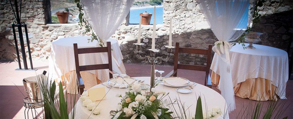 Il castello di Roseto Capo Spulico, il ristorante