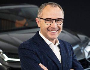 Stefano Domenicali alla guida di Lamborghini
