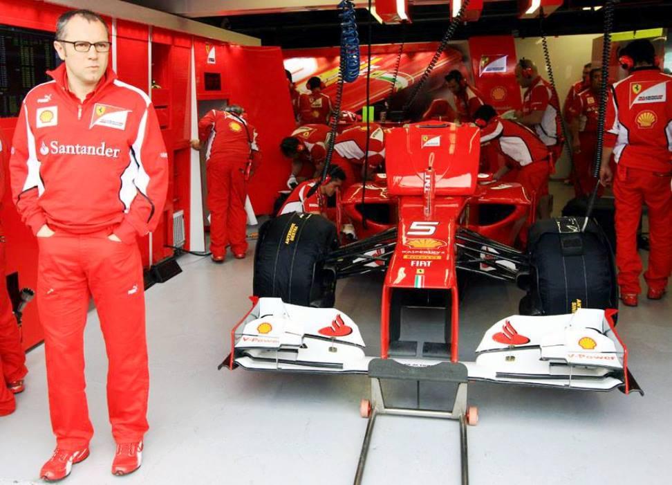 Stefano Domenicali alla Ferrari