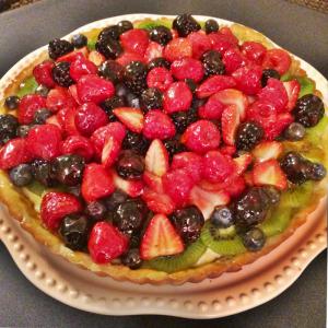 la crostata - immagine di crostata di frutta mista