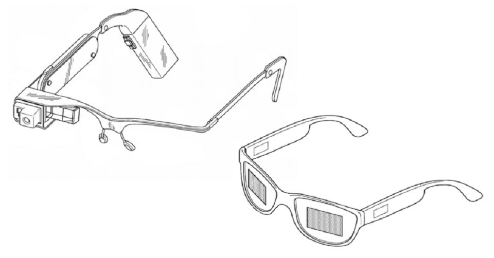 Il prototipo dei google glass