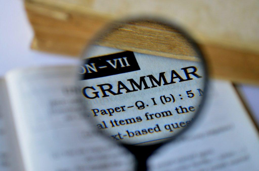 I verbi difficilissimi - pagina di dizionario