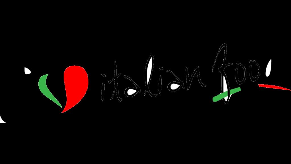 100per100 Italian Talks - logo i love italian food