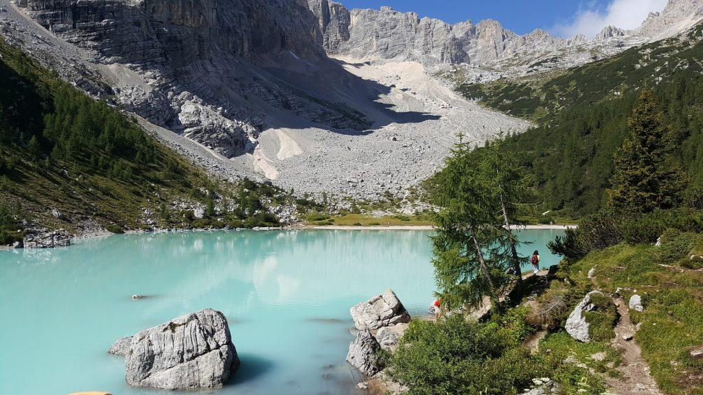 laghi italiani - lago di Sorapis
