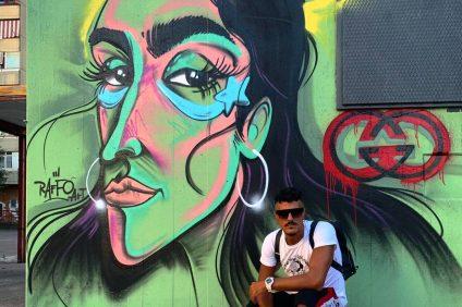 Il murales di Raffo art