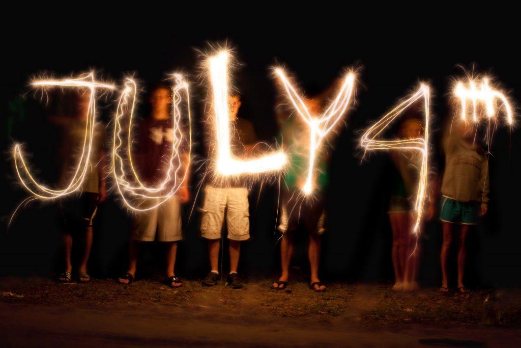 Il 4 luglio in America