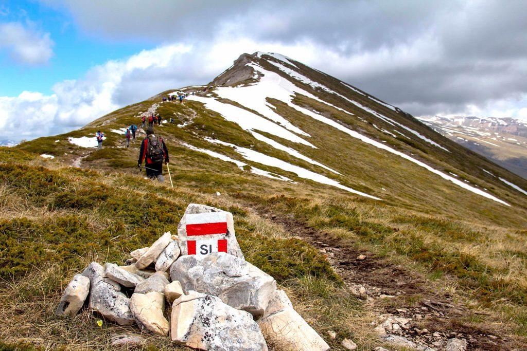 sentiero italia segnaletica