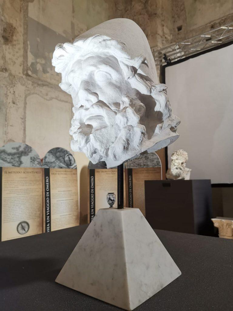 Odissea Museum - testa di ulisse
