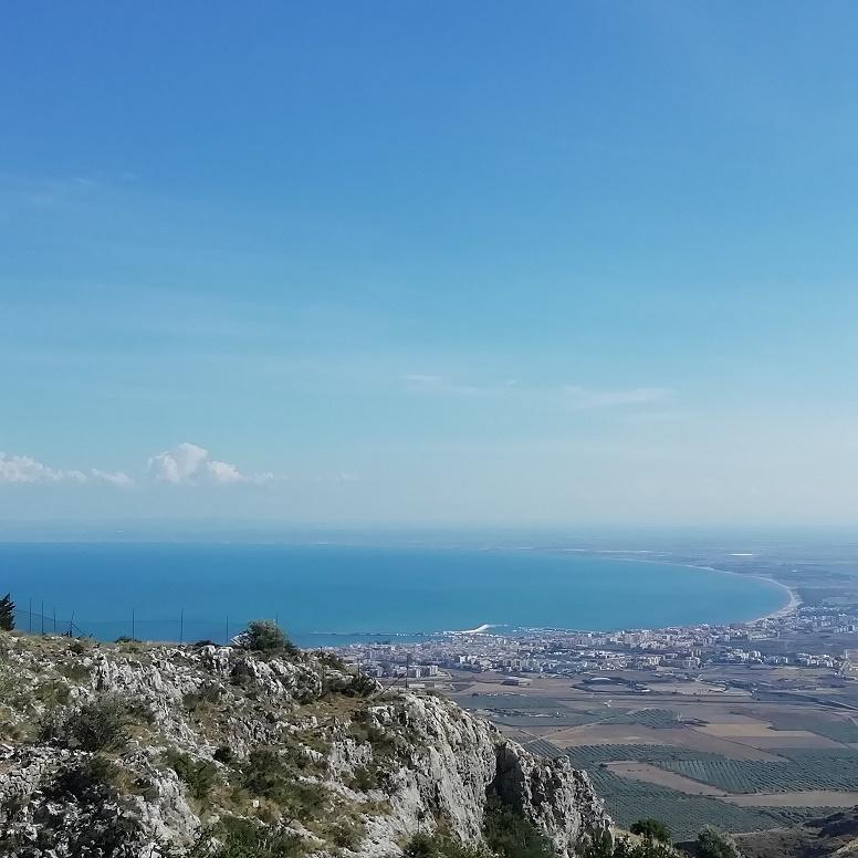 abbazia di Pulsano - veduta del panorama