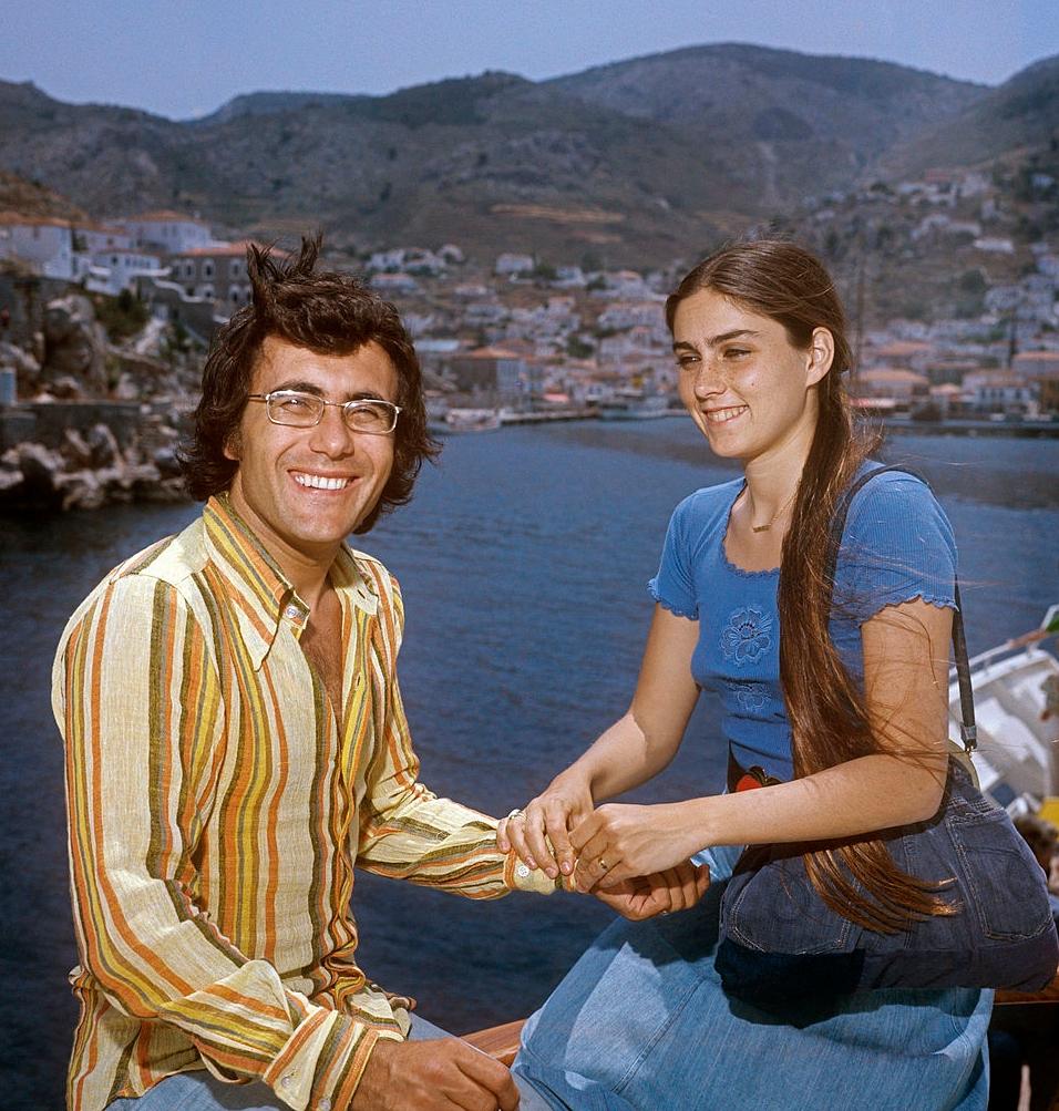 romina power con il marito Al bano