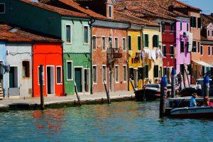 Burano e i colori delle case