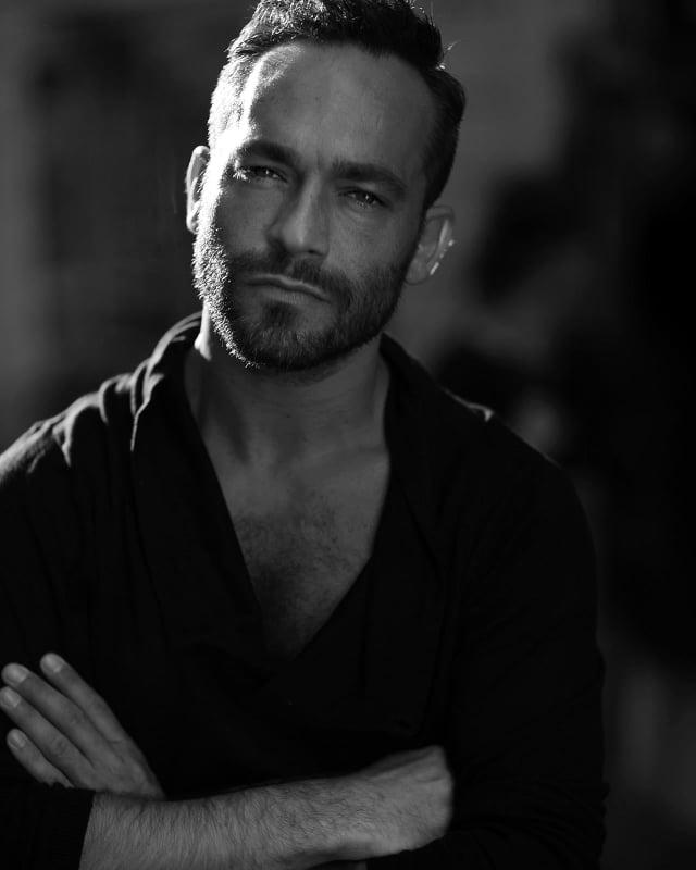 Nella foto l'attore Francesco Castiglione
