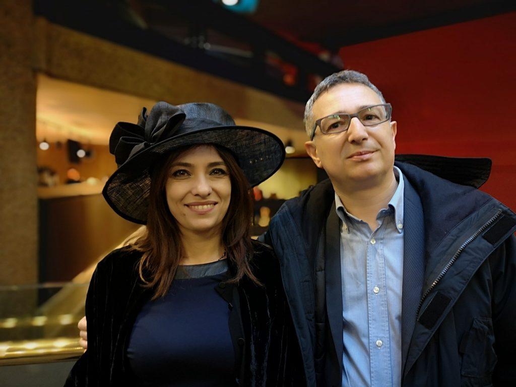 Paola Stranges e Gerardo Ferlaino