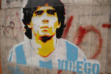 Maradona - murales Diego Armando Maradona