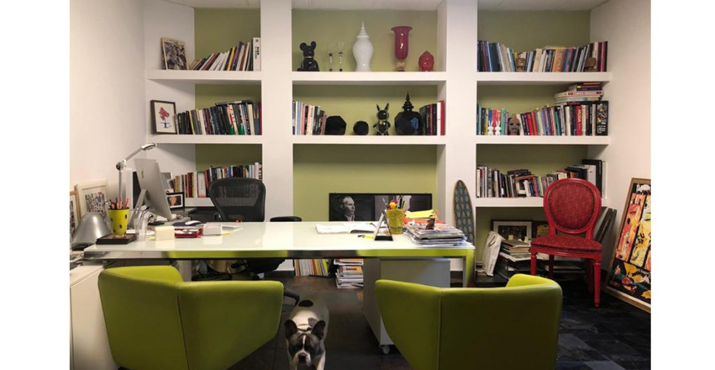 Lo studio Rotella, un'immagine